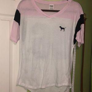 PINK varsity shirt